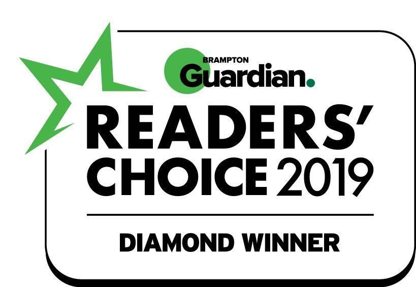 Brampton Ctrl V® Readers' Choice 2019 - Children's Entertainment