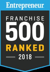 Franchise 500 Ranked 2018