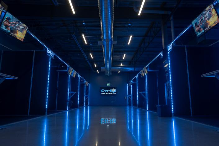 Ctrl V® Virtual Reality Arcade