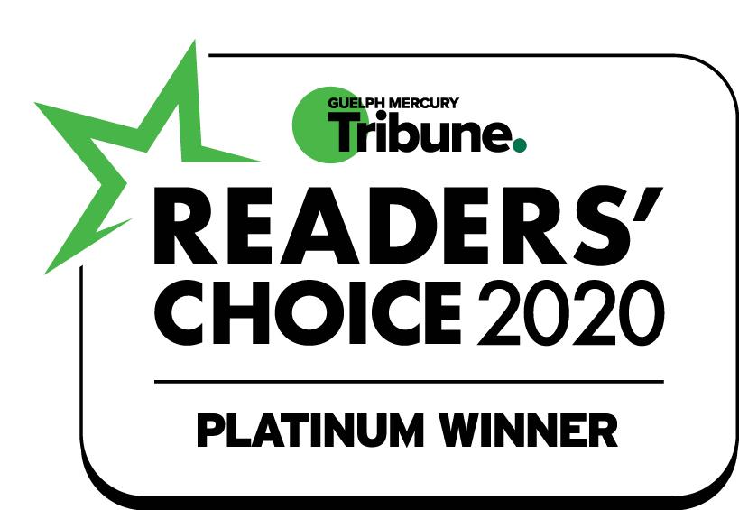 Guelph Ctrl V® Readers' Choice 2020 - Best Recreation Facility
